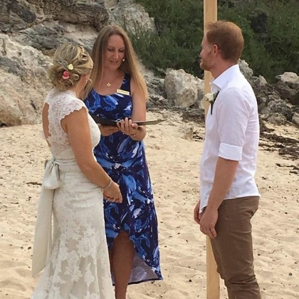 Barefoot Beach Wedding Margaret River Wedding Celebrant