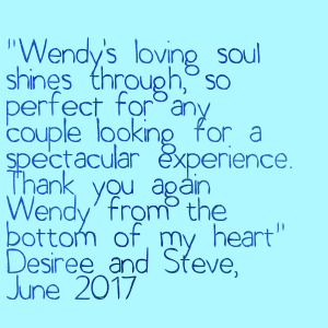 Wendy Grace Hendry Quote D&S