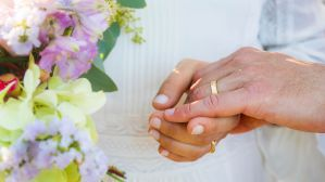 Exchanging Rings - photo by Zuzu