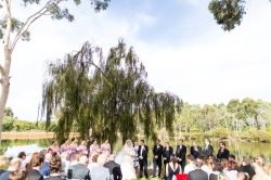 Under the willow tree - photo by Viva Life Photography Weddings