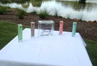Sand Ceremony Before - S & D