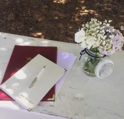Bridgetown Gardens Wedding - photo by Wendy