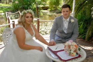 J&B - Signing the Registry - WGH Celebrant