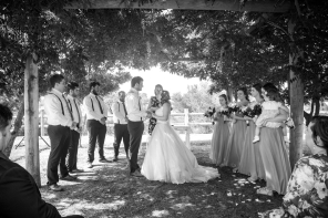 Jess and Travis's Bridgetown Wedding - photo by Victoria Baker Photography