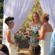 Mrs and Mrs Pidala - Wendy Grace Hendry Celebrant
