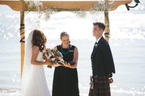 Gnarabup Beach Wedding Margaret River - photo by Driftwood Photography