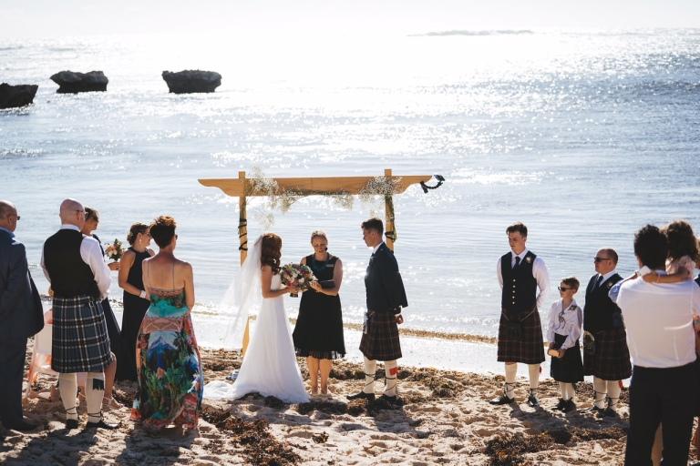 Charlotte and Luke Wedding Ceremony Wendy Hendry Celebrant - photo by Driftwood Photography