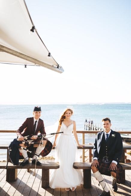 Luke and Charlotte's Wedding Gnarabup - Photo by Driftwood Photography