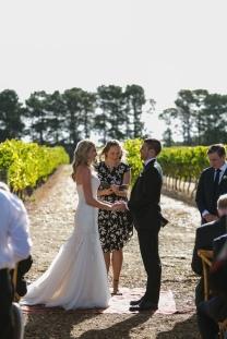 Bonnie and Nick - Margaret River Wine Region Wedding - photo by Huemen Media