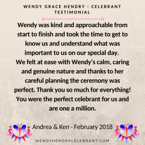 Copy of WENDY GRACE HENDRY - CELEBRANTTESTIMONIAL