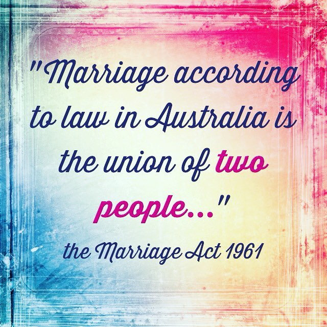 marriage equality monitum - Wendy Hendry Celebrant
