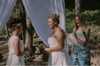 Tiff and Corinne Wedding Ceremony - photo by April Loves Arnold