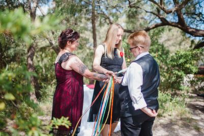 Handfasting - Photo by Dian Sarah Photography