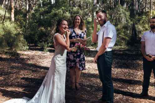 Ster and Jase Boranup Forest Wedding - photo by 'We Are All Stardust'