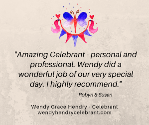 Wendy Grace Hendry - Celebrant