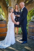 Jules and Warwick wedding ceremony Caves House Hotel Yallingup - photo by Courtney Reader Artistry