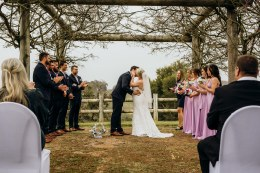 Bec and Kyle's Bridgetown Wedding - Photo by Folktales