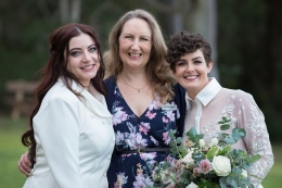 Tasha and De's Wedding at Wise Wine - photo by Real Image Photography