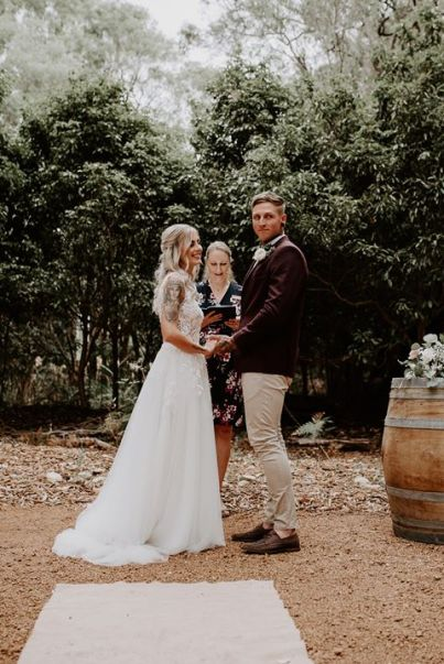 Helg and Luke Wedding - photo by Shae Weightman Photography