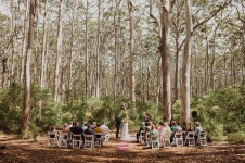 Wendy Grace Hendry Celebrant Margaret River Forest Wedding