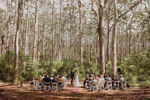 Wendy Grace Hendry Celebrant Margaret River Forest Wedding