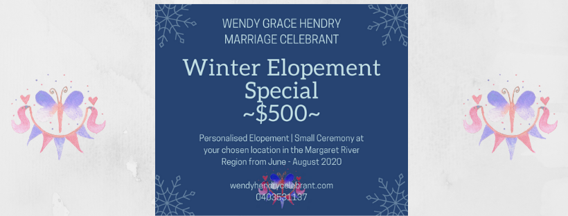 Winter Elopement Special