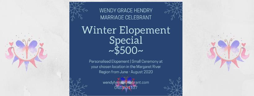Winter Elopement Special